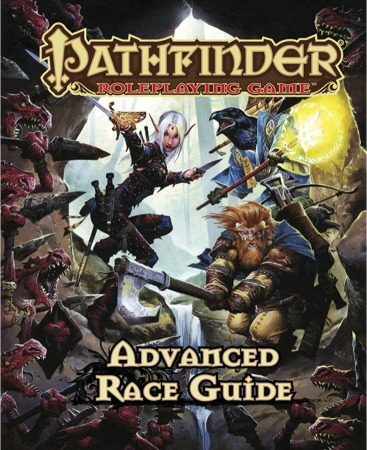 pathfinder advanced race guide - roleplaying game paizo rpg