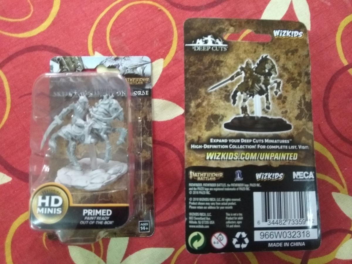 Pathfinder Battles Miniatures Skeleton On Horse