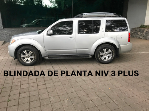 pathfinder exclusive blindada nivel 3 plus planta (impecable