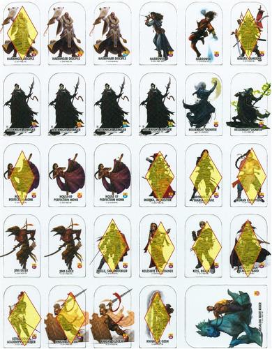 pathfinder pawns miniaturas - d&d - gurps - rpg