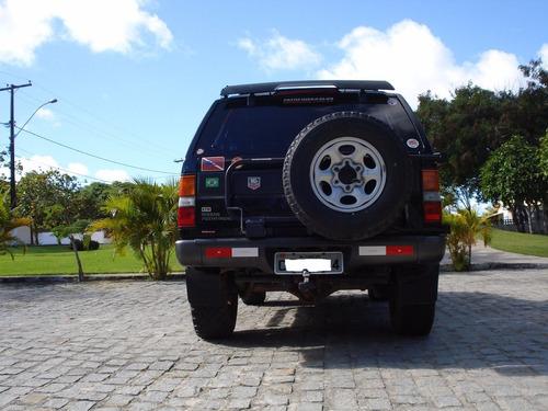 pathfinder turbo diesel 4x4 nova mesmo