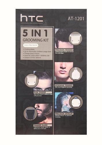 patillera afeitadora perfil nariz guias recargable 5en1 htc