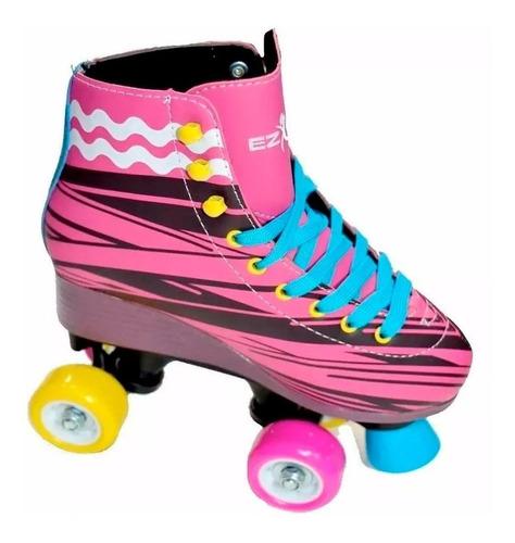 patin artistico ez life patines soy luna bota rígida 32 / 38