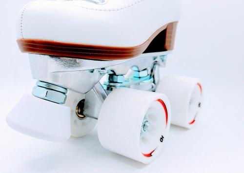 patin artístico hondar plancha aluminio abec7 talla 30