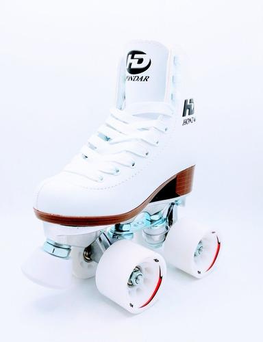 patin artístico hondar plancha aluminio abec7 talla 38