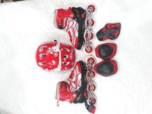 patin en linea para niños modelo 128ct
