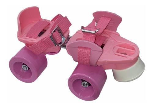 patin flash rosa leccese 27a36 2 envio gratis todo el pais