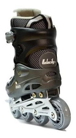 patin rider velocity negro/gris