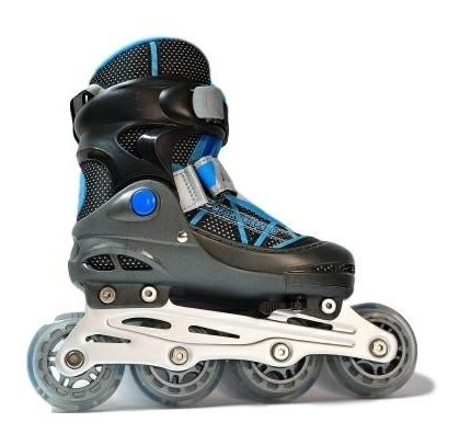 patin rider velocity negro/turquesa