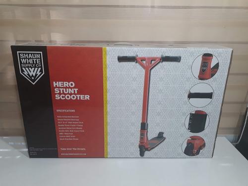 patin scooter para acrobacias hasta 100kg abec7 shaun white