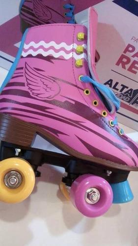 patines 4 ruedas 28-29-30-32-34-al38 + regalo/ envió gratis