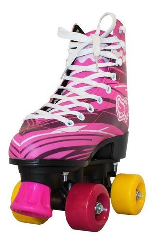 patines 4 ruedas bolso artístico, tienda dophin talles 32 al 40, envió gratis full 24-48 hs a caba y bs as tipo soy luna