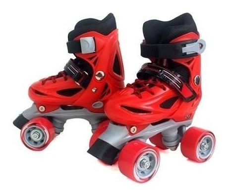 patines 4 ruedas + casco + protecciones // pack de patinaje