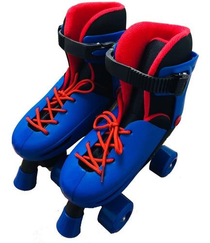 patines 4 ruedas roller de niño ajustables 27 a 38