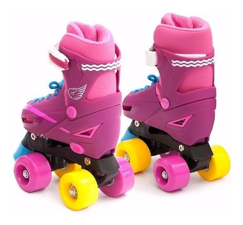 patines 4 ruedas roller tipo soy luna 27 a 38 / en oferta