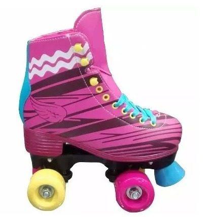 patines 4 ruedas tipo soy luna tallas 34 -38   envio gratis