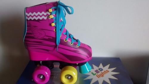 patines 4 ruedas tipo soy luna varias tallas despacho gratis