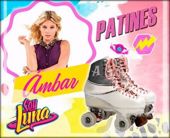 Patines Ambar Soy Luna Disponible Originales Talla 22 Disney