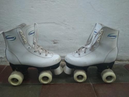 patines artísticos en buen estado