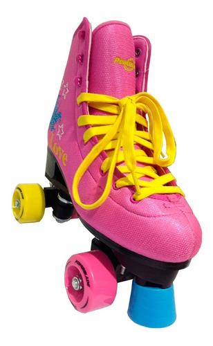patines artísticos extensibles talle 32-39 nuevos + bolso
