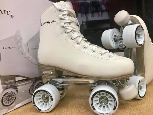 patines artísticos gama alta, chasis metálico chico'skate