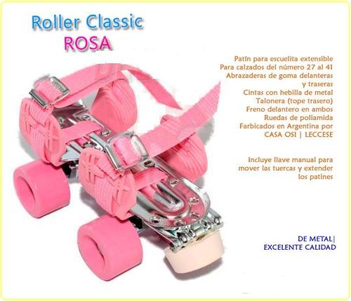 patines artisticos leccese classic rosa origin casa valente