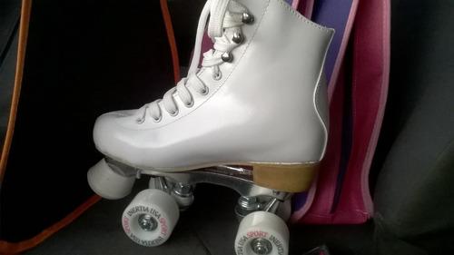 patines artisticos nacionales 100% cuero envio gratis