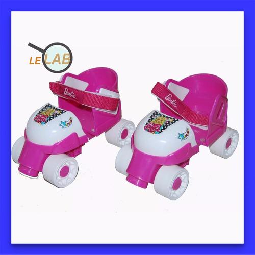 patines barbie del 24 al 36 4 ruedas edicion lelab 7231