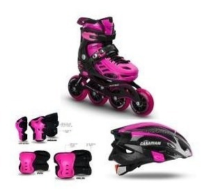 patines black magic canariam, oferta!! con todo incluido.