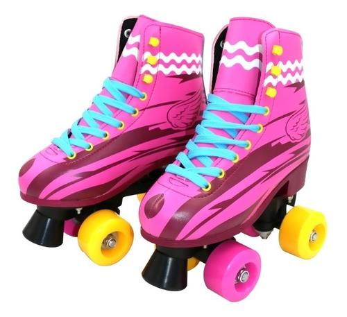 patines con luces led llantas de goma