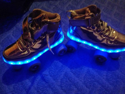 patines con luces led scoop talla 36 (usado)