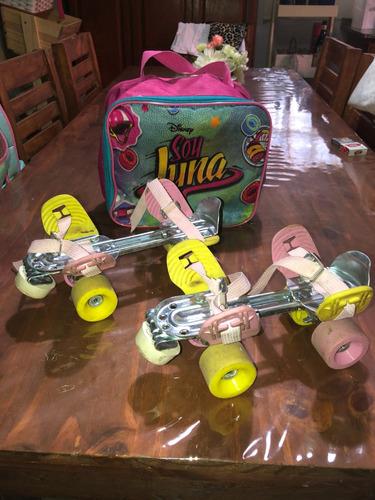 patines cuatro ruedas soy luna