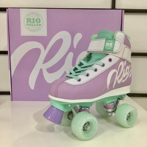 patines de 4 ruedas semi profesionales - estilo soy luna