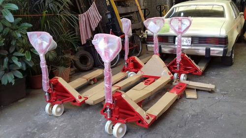 patines de carga marca new line nuevos para 3 ton. en $ 5500