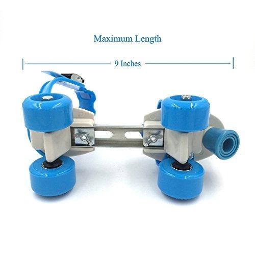 patines de ruedas cuádruples de velocidad ajustable para n