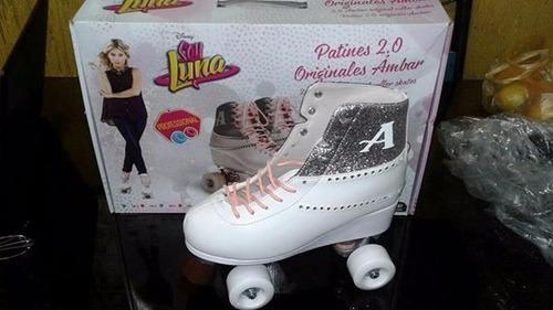 patines de soy luna,  ambar original 34 y 36
