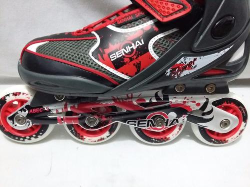 patines de talla ajustable para uso urbano + regalo
