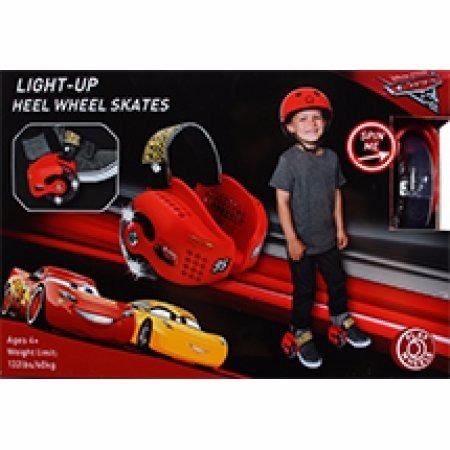 patines de talon ruedas para zapato playwhells disney cars