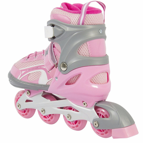 patines en linea ajustables para niña con luces 0504