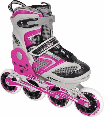 patines en linea canariam speed bolt originales tula