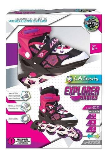 patines en linea explorer ajustables niña ¡super outlet!