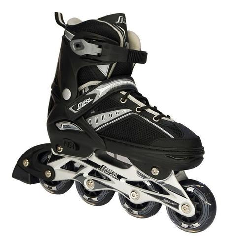 patines en linea llanta goma semiprofesional + envio gratis