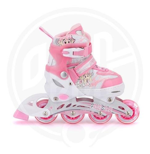 patines en linea  para niña ajustables freestar talla m