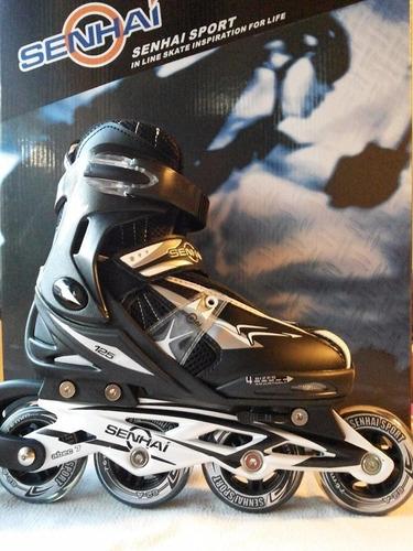 patines en linea profesional blazer action y senhai 30 al 33