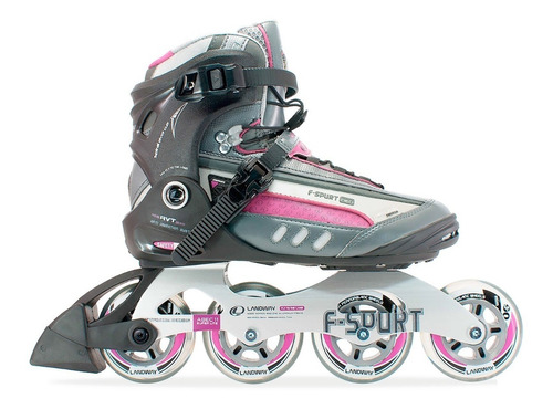 patines en línea semiprofesionales  landway f-spurt