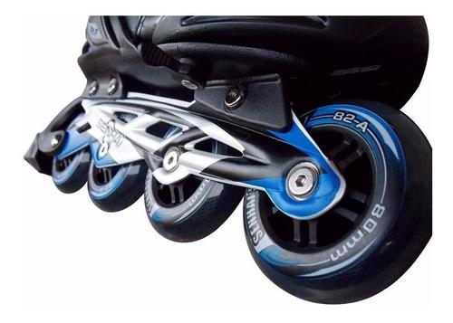 patines en linea senhai, action 34-37 azul / jlg importadora