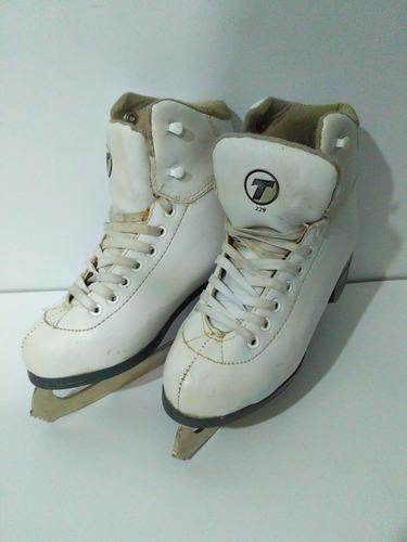 patines especial para hielo patinaje artístico talla 23 mx