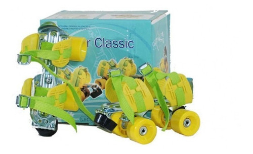 patines extensibles clasicos retro leccese diversion full!