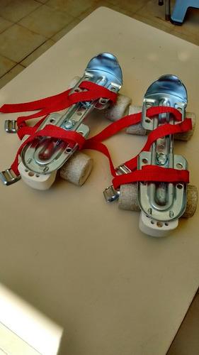patines extensibles industria argentina excelente como nuevo