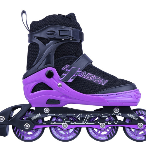 patines fitness profesionales para dama color lila t/31-39